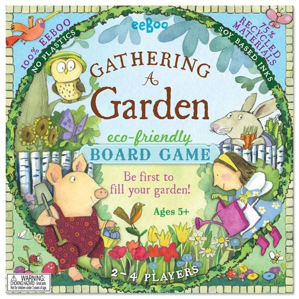 eeBoo - Gathering a Garden Board Game