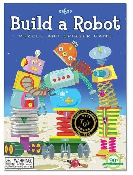 eeBoo - Build A Robot Spinner Game