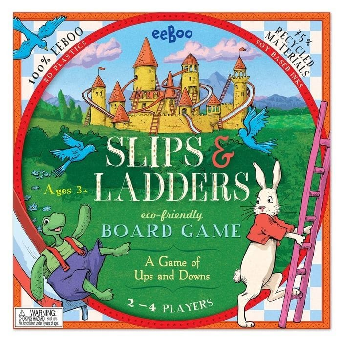 eeBoo - Slips & Ladders Board Game
