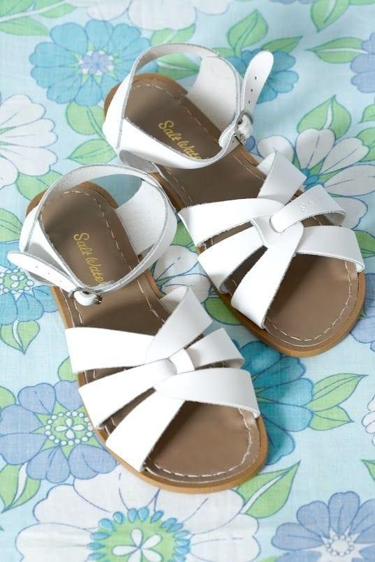 Saltwater Sandal - White Adult