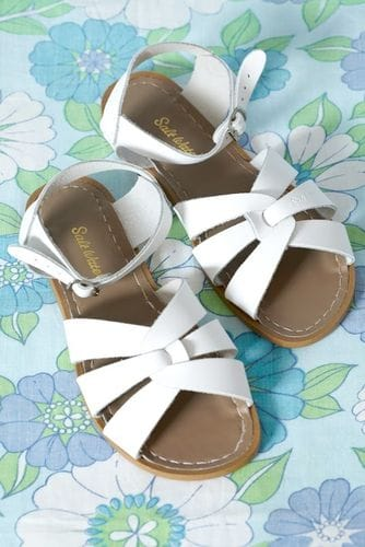 Saltwater Sandal - White Adult