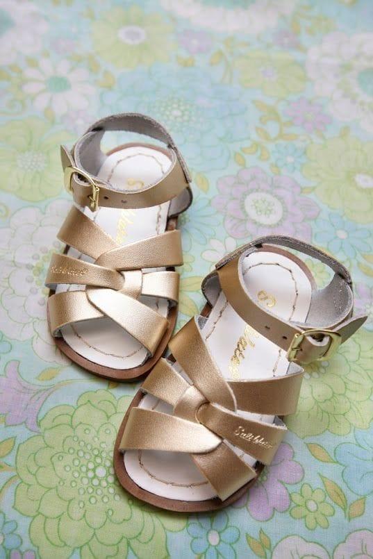 Saltwater Sandal - Gold