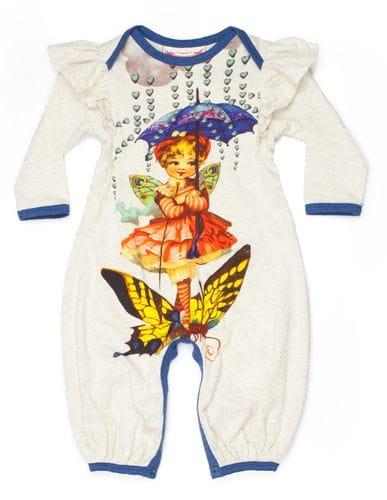 Little Wings - Frilled Romper - Winter Fairy - SALE