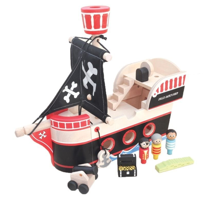 Indigo Jamm - Jolly Jack's Pirate Ship