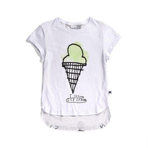 SALE - Minti - Scream Icecream Tee