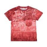 Paper Wings - Drop Shoulder T-shirt - Rust Board
