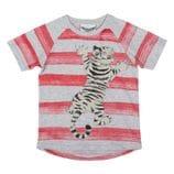 Paper Wings - Raglan T-shirt - Tiger Stripe