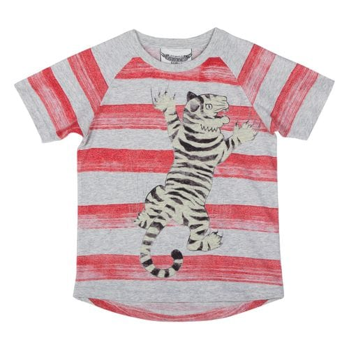 Paper Wings - Raglan T-shirt - Tiger Stripe