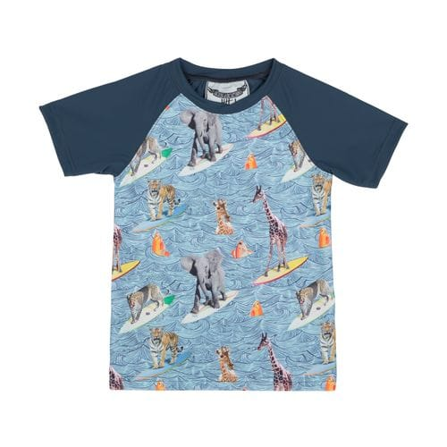 Paper Wings - Short Sleeve Rashie - Surfs Up
