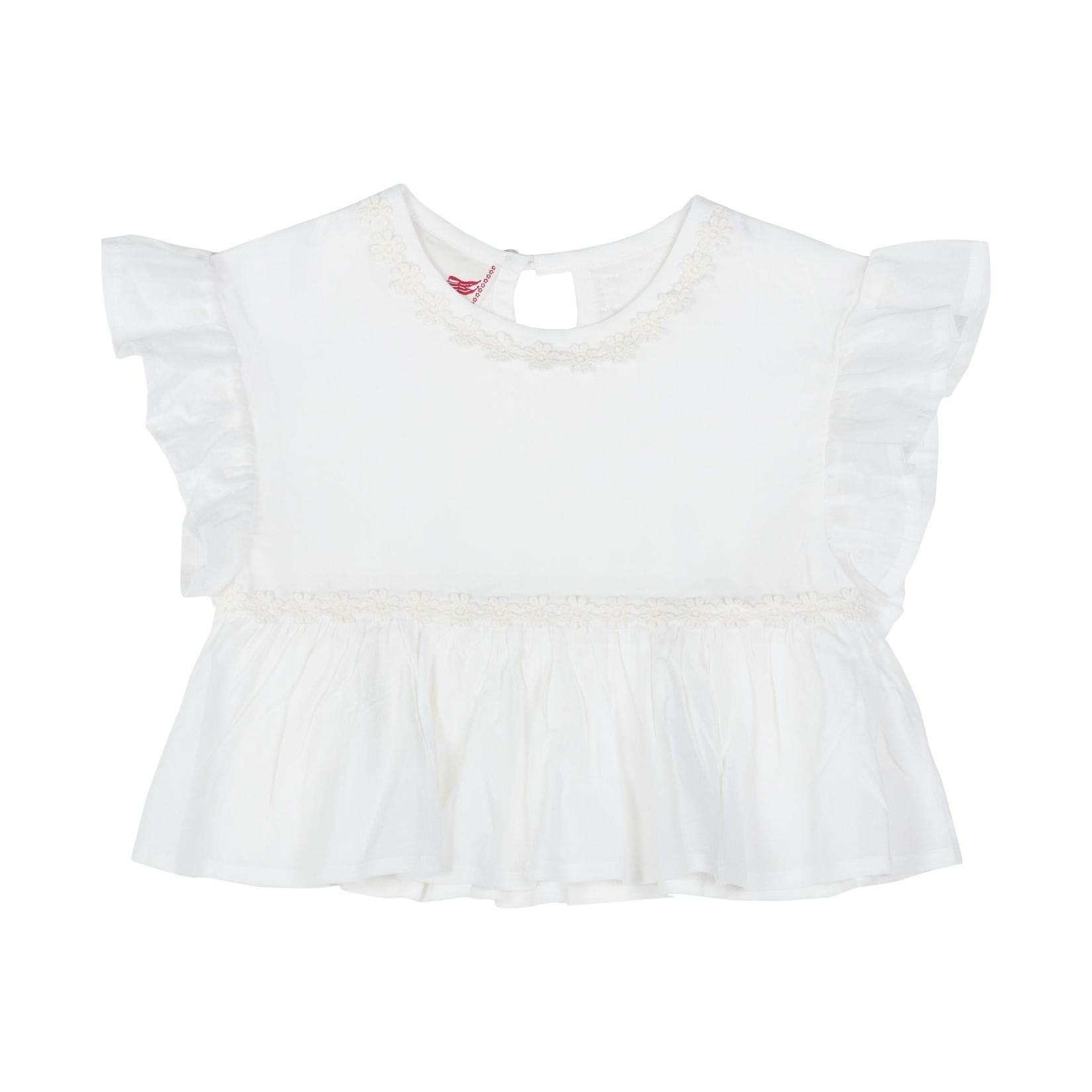 Little Wings by Paper Wings - Lace Trimmed Smock