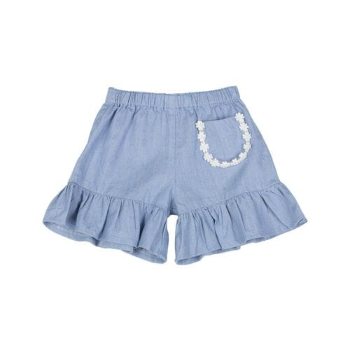 Little Wings by Paper Wings - Frilled 3/4 Flared Pants