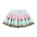 Little Wings by Paper Wings - Gathered Skirt - Daisies Border