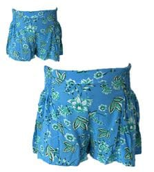 MiiLoveMu - Shirring Shorts - Bloom
