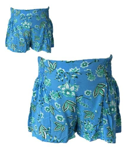 MiiLoveMu - Shirring Shorts - Bloom