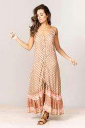 Talisman - Peron Dress - Evita Natural