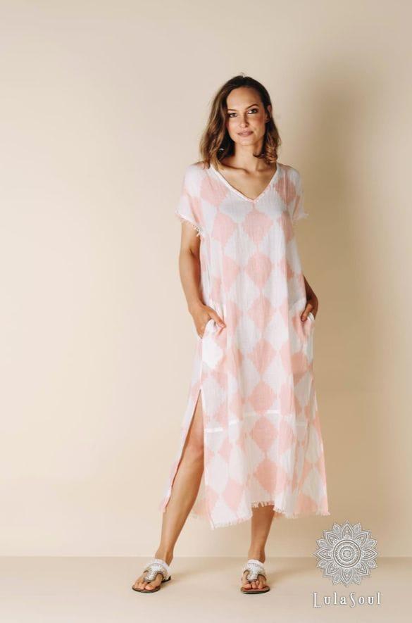 Lula Soul RAW - Hope Maxi Dress - Blush