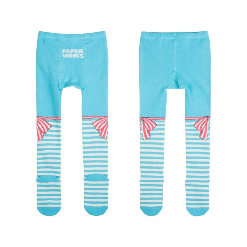 Paper Wings - Tights - Bow Stripes