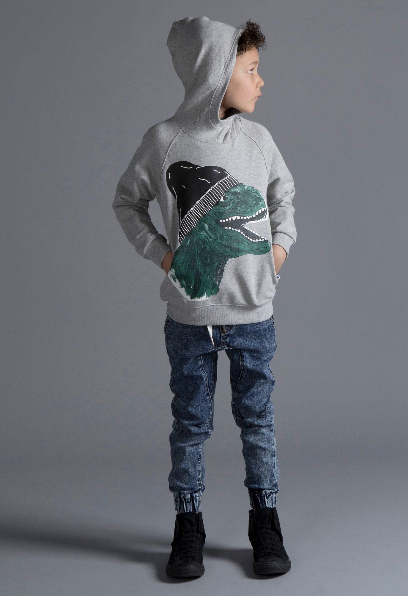 Minti - Casual T-Rex Furry Hoodie