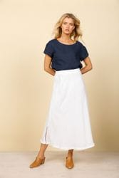 Shanty Corporation - Sicily Skirt - White