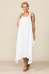Shanty Corporation - Cefalu Sundress - White