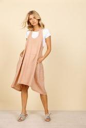 Shanty Corporation - Caraway Shift Dress - Desert