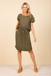 Shanty Corporation - Khari Skirt - Jungle Green