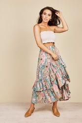 Talisman - Sassy Skirt - Cuban Sun