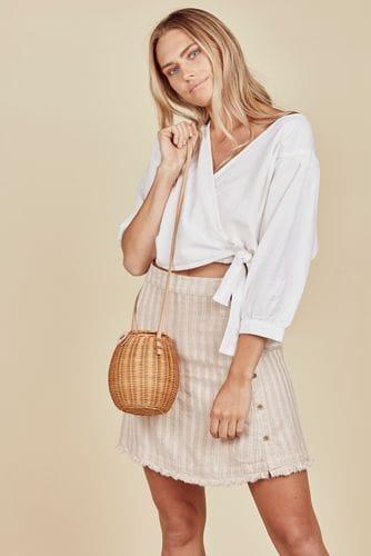 Daisy Says - Aspen Skirt - Tulum Stripe