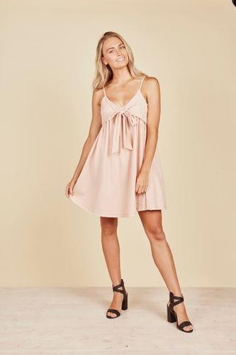 Daisy Says - Baja Singlet Dress - Rose