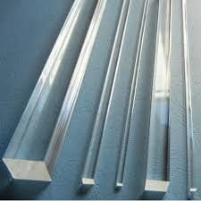 Clear Acrylic Square Rod