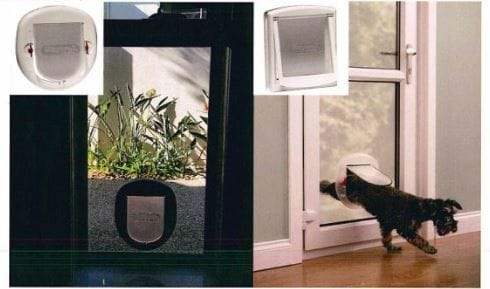 Clear Perspex Dog & Cat Doors