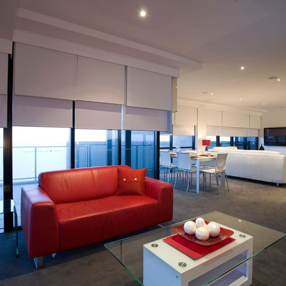 Double View Roller Blinds Custom Blinds Amp Shutters Qld