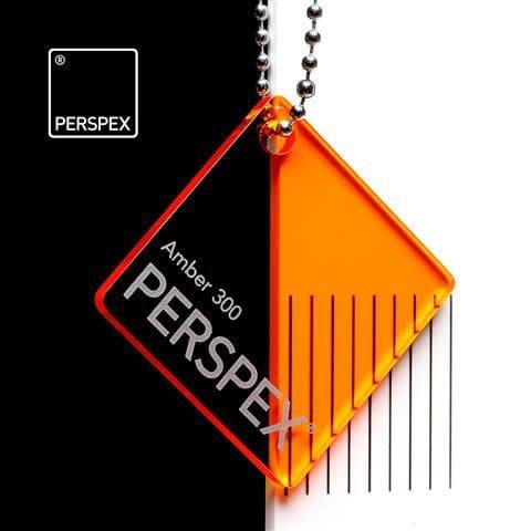 Holland Plastics Perspex® Transparent Colours & Tints - Amber 300