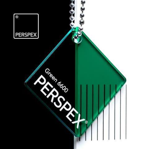 Holland Plastics Perspex® Transparent Colours & Tints - Green 6600