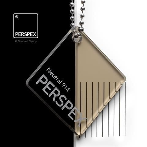 Holland Plastics Perspex® Transparent Colours & Tints - Nuetral 914
