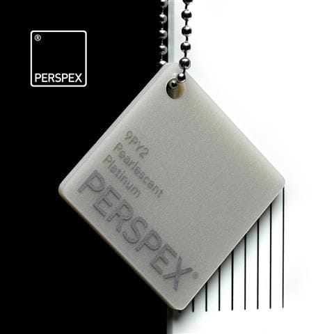 Holland Plastics Perspex® Pearlescent Platinum