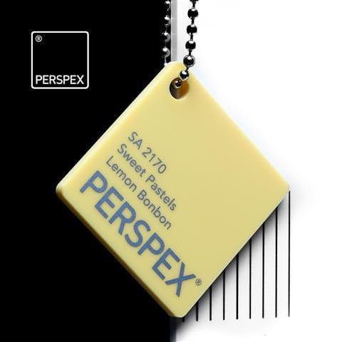 Holland Plastics Perspex® Sweet Pastels - Lemon Bonbon - SA 2170