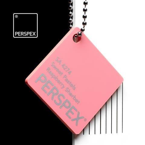 Holland Plastics Perspex® Sweet Pastels - Raspberry Sherbet - SA 4274