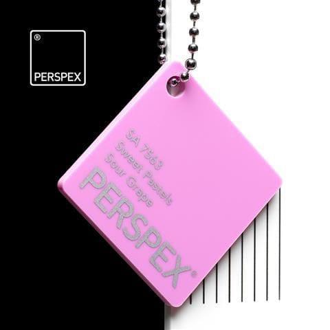 Holland Plastics Perspex® Sweet Pastels - Sour Grape - SA 7563
