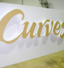 Custom Signs & Lettering, Holland Plastics, Plastic Fabrication, Gold Coast, Brisbane