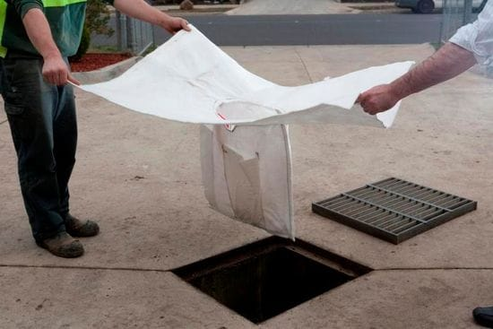 Rubbish and pollutants escaping down the drain? Stop them NOW!