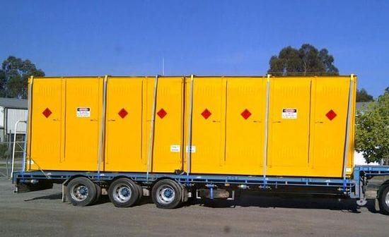 Andy's Week - Outdoor Relocatable Dangerous Goods Stores