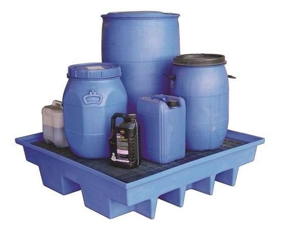 Outdoor Hardtop Storage: Weatherproof Polyethylene Bunds