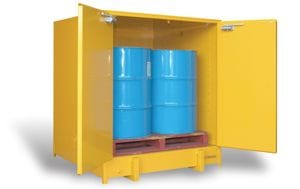 250L Heavy Duty Flammable Liquids Storage Cabinet