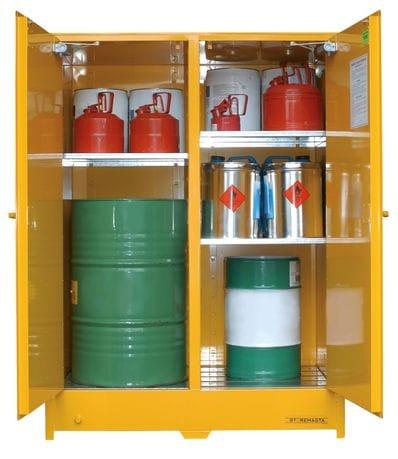 450L Heavy Duty Flammable Liquids Storage Cabinet