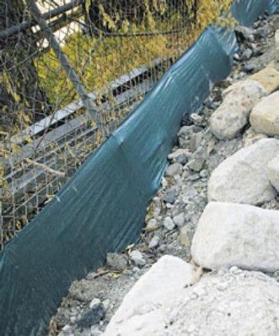 Standard Silt Fence