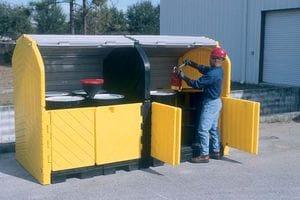 Modular Hardtop Drum Storage