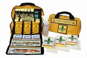 Sharps and Biohazard First Aid