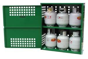 LPG Store for 9kg BBQ Gas Bottles