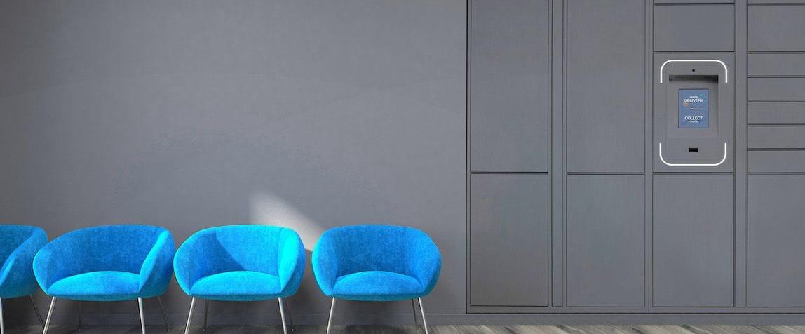 smart parcel lockers for multi residential